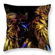 Lago Titicaca Birds Throw Pillow