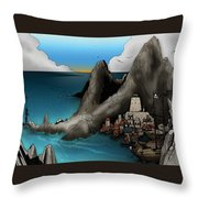 Lagott Island Throw Pillow