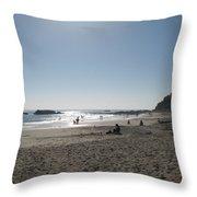 Laguna Beach Afternoon Throw Pillow
