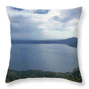 Laguna De Apoyo Nicaragua 2 Throw Pillow