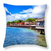 Lahaina 4 Throw Pillow
