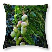 Lahaina Mango 1 Throw Pillow