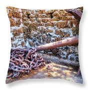 Lahaina Prison 2 Throw Pillow