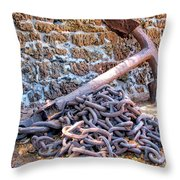 Lahaina Prison 3 Throw Pillow