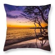 Lahaina Twilight Throw Pillow