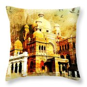 Lahore Museum Throw Pillow