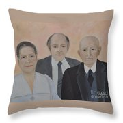 Lahoud Family Throw Pillow