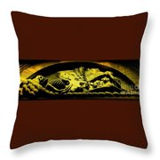 Laid To Rest Throw Pillow