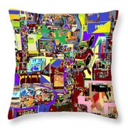 Lail Haseder 4 Bais Throw Pillow