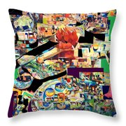 Lail Haseder 4 Throw Pillow