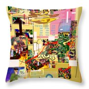 Lail Haseder 4dbab5774c Throw Pillow