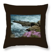 Lajolla Shore Throw Pillow