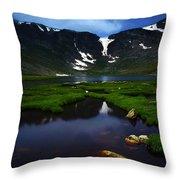 Lake 21 Throw Pillow