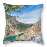 Lake Agnes - Lake Louise - Canada Throw Pillow