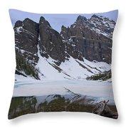 Lake Agnes #2 Throw Pillow