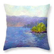 Lake Arrowhead Throw Pillow