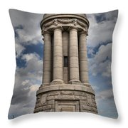 Lake Champlain Lighthouse Throw Pillow