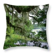 Lake Cherokee Throw Pillow