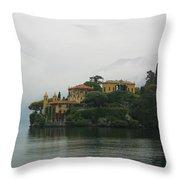 Lake Como No. 1 Throw Pillow