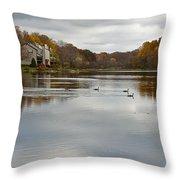 Lake Elkhorn Throw Pillow