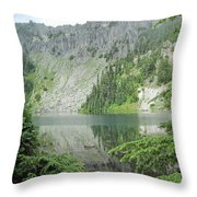 Lake Eunice Throw Pillow