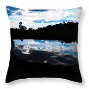 Lake Goad Throw Pillow