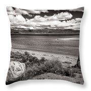 Lake Granby Throw Pillow