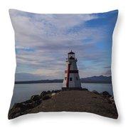 Lake Havasu Lighthouse Throw Pillow