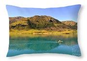 Lake Hawea Throw Pillow