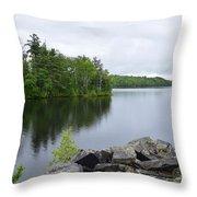 Lake Hebron Throw Pillow
