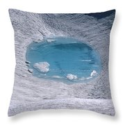 M-05416-lake In Summit Crater On South Sister Throw Pillow