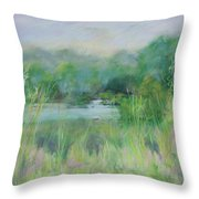 Lake Isaac Impressions Throw Pillow