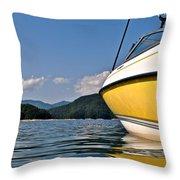 Lake Jocassee Throw Pillow