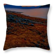 Lake Jocassee Sunrise Throw Pillow