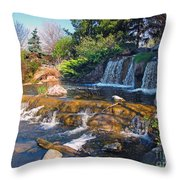 Lake Katherine 1 Throw Pillow