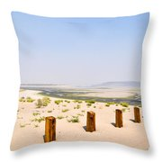 Lake Lahontan Throw Pillow