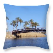 Lake Las Vegas Throw Pillow