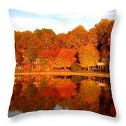 Lake Lochmere Throw Pillow