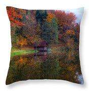 Lake Lodge Throw Pillow