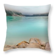 Lake Louise Dawn - Canada Throw Pillow
