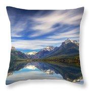 Lake Macdonald Throw Pillow