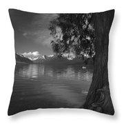 Lake Mcdonald In The Spring Throw Pillow
