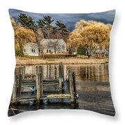 lake Michigan Throw Pillow