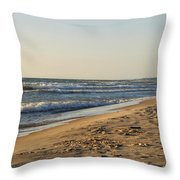 Lake Michigan Shoreline 02 Throw Pillow