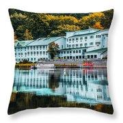 Lake Morey Inn And Resort Throw Pillow