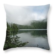 Lake Mowich Throw Pillow