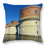 Lake Murray Sc Dam Throw Pillow