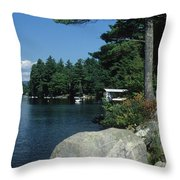 Lake Norway 07 Throw Pillow