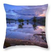Lake Ocoee Throw Pillow