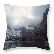 Lake Of Glass Throw Pillow by Eric Glaser